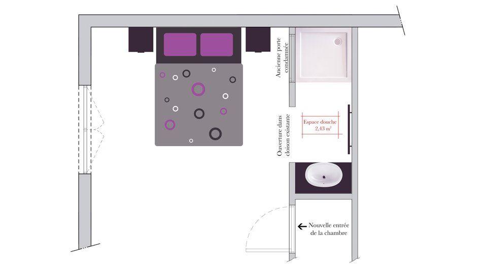Conseils d 39 architecte comment am nager un espace douche ou bain dans un - Configuration salle de bain ...