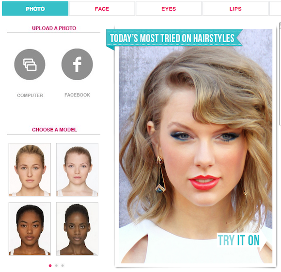 Virtual Hair Makeover: Virtual Hair Makeover, Virtual