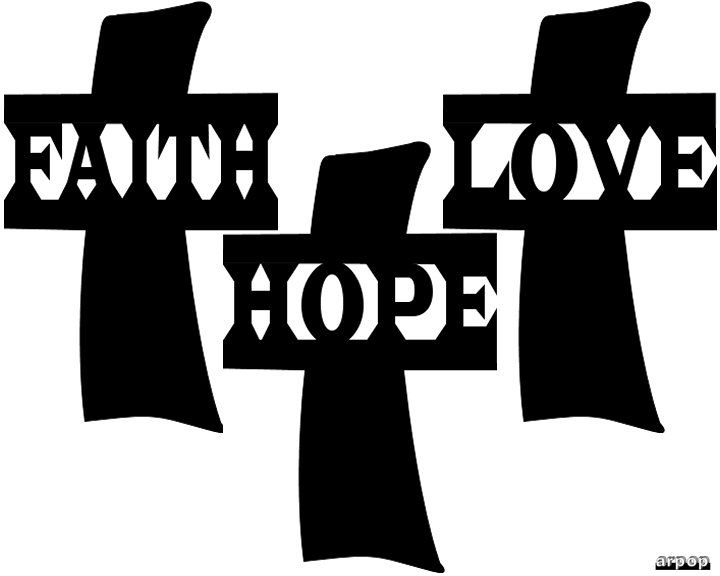 Free scroll saw patterns by arpop faith hope and love