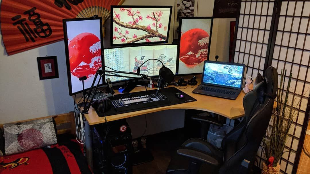 Pin By Alessia Toledo On All Things Japan Gaming Room Setup