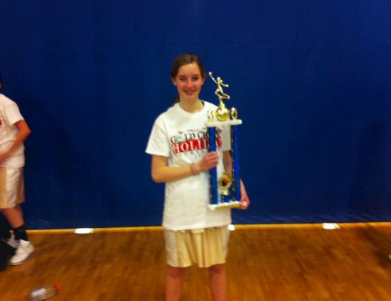 My 2 first place win in gold crown basketball