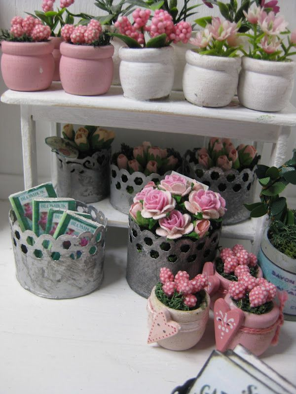 My flower shop - miniatyrmama