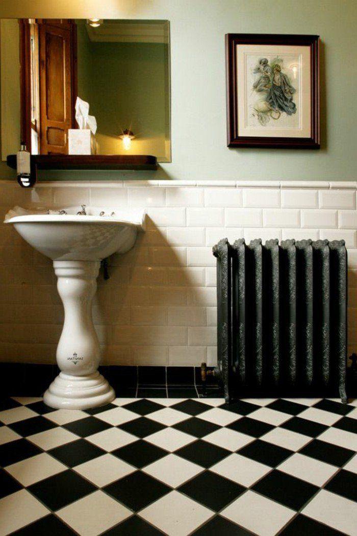 Choisissez un joli lavabo retro pour votre salle de bain Nest
