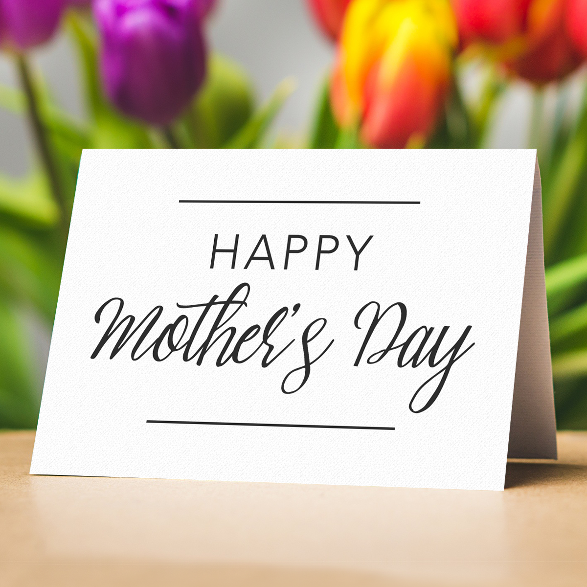 Happy Mother's Day to all the wonderful mothers out there
