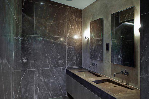 Le meuble salle de bain à double vasque convient à une salle ...
