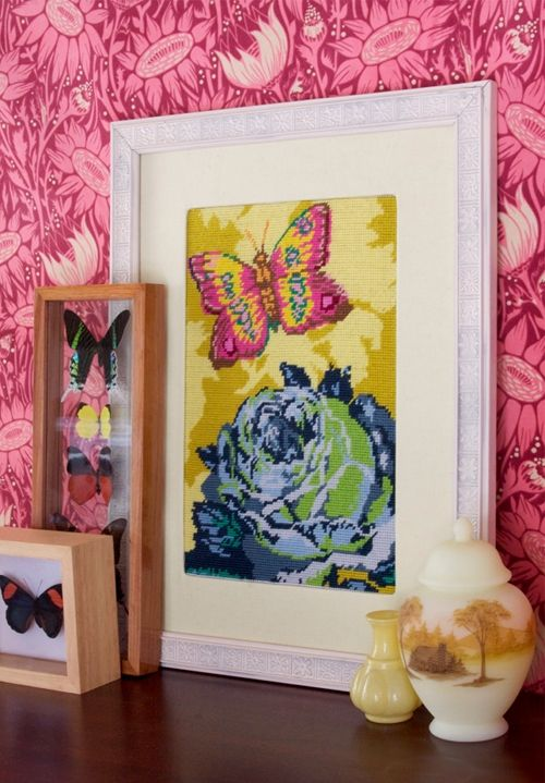i love anna maria horner prints and now she\'s got cross stitch! oh ...