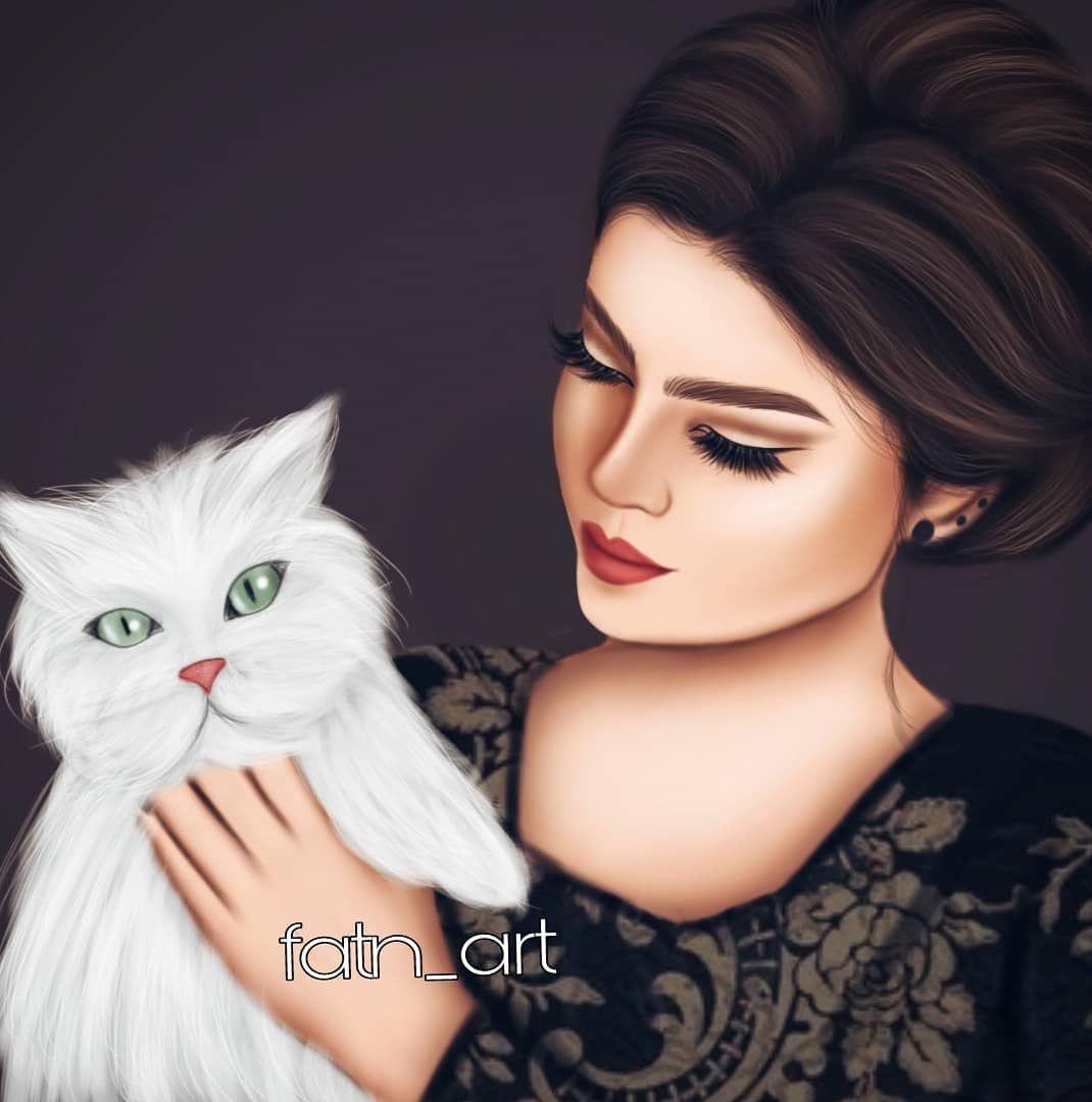 رسمتي الجديده تحبون القطط اني اي بس ماعندي رسامين رسمت Esbocos Bonitos Girly M Desenhos Bonitos