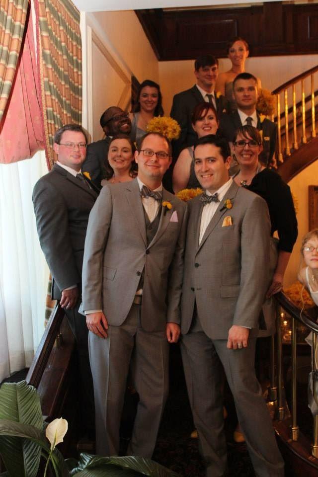 Gay wedding decorations