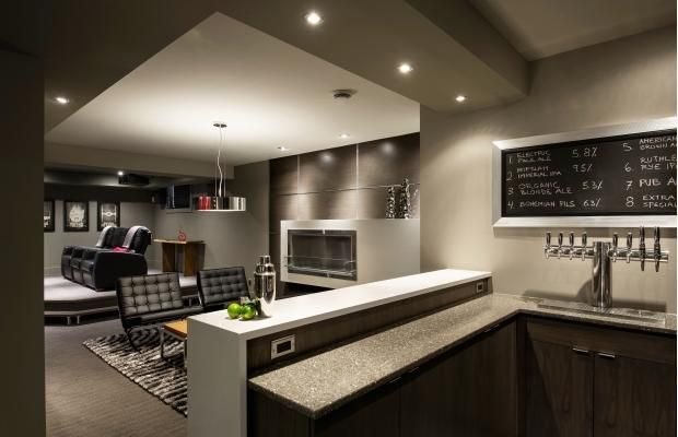 Kal S Basement Home Theatre Bar Brewery Build 2 0 Modern