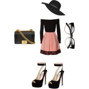 glamorous chic by me - polyvore