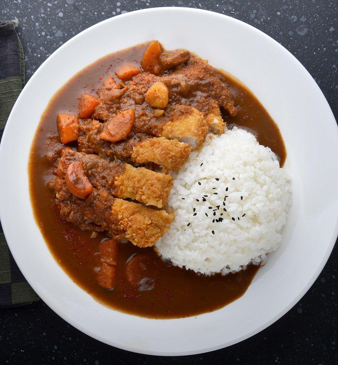 Chicken Katsu Curry Recipe Ninja Ninja Foodi 6 5 Qt The Pressure Cooker That Crisps Op30 Katsu Curry Recipes Chicken Katsu Curry Recipes Food Dishes