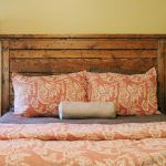 Headboards Made From Reclaimed Wood