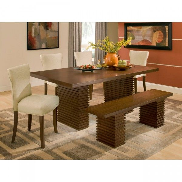 Milano Dining Table 4 Chairs Bench P835 Furniture