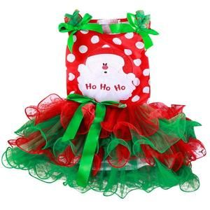 Christmas Dress For Girls Toddler Girls New Year Party Snowman Costume Kids Santa Claus Dresses Red Green Princess Dress 2-6yrs #babygirlpartydresses
