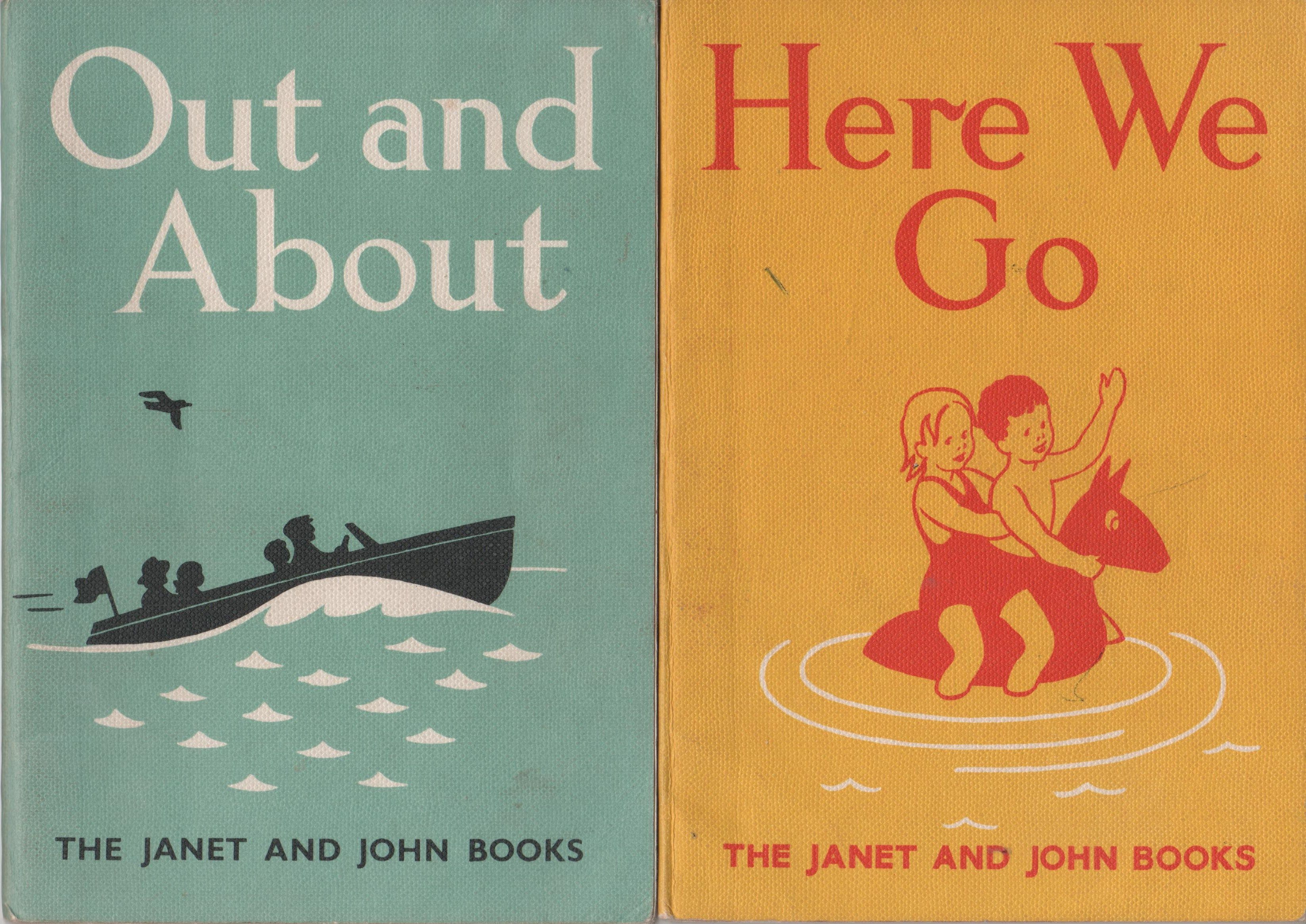 The books we used to learn to read Janet and John