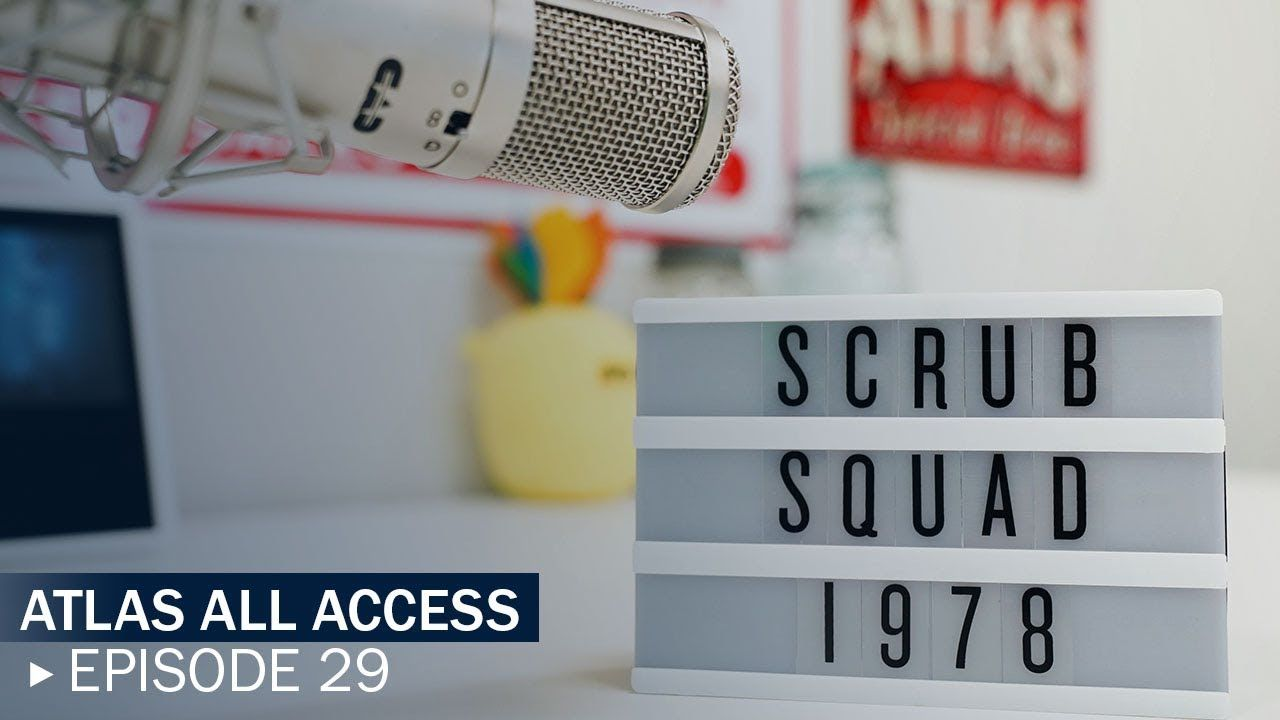 Thomas Piper Of Scrub Squad 1978 His Recruiter Hannah Bryant Joins Us Atlas All Access 29 Scrubs Travel Nursing Squad