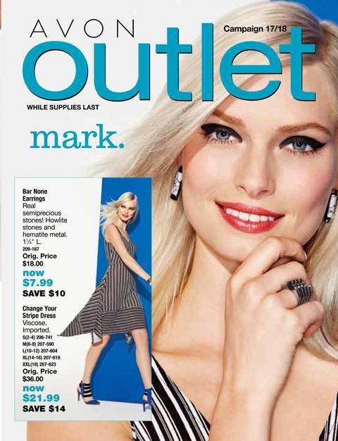 Avon Campaign 17 Outlet Catalog. Shop all Avon at www.deannasbeautyshop.com