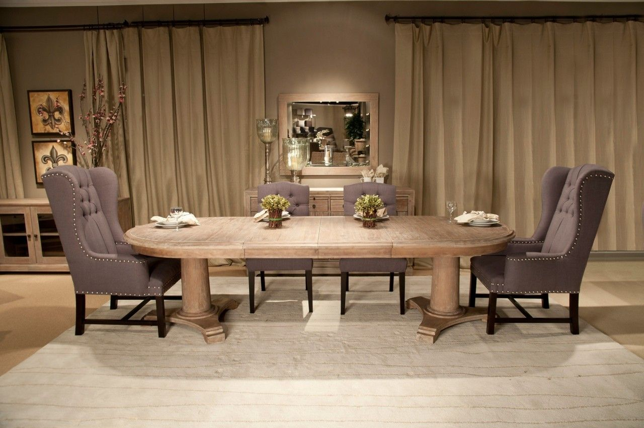 Belmont Oval Extension Dining Table Extension Dining Table