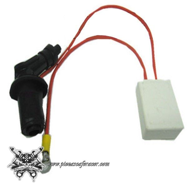 Carviya Ignition Key Switch Fits for ATV Quad Dirt Bike Go Kart 4 Wire