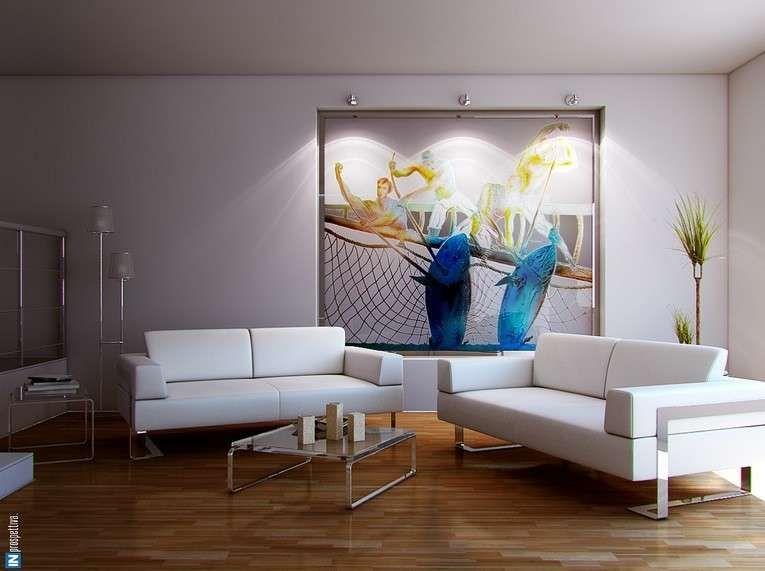 Come appendere i quadri in soggiorno   Idee di interior ...