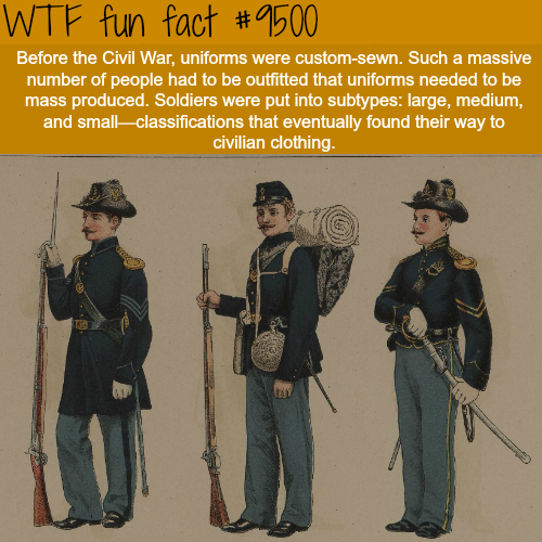 civil war wtf fun fact #historyfacts