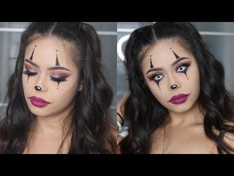 15 Scary Halloween Clown Makeup Tutorial To Try This Year - Halloween-makeup-tutorial