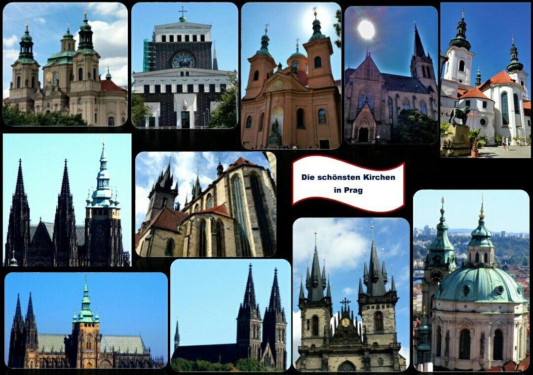 die schönsten Kirchen in Prag