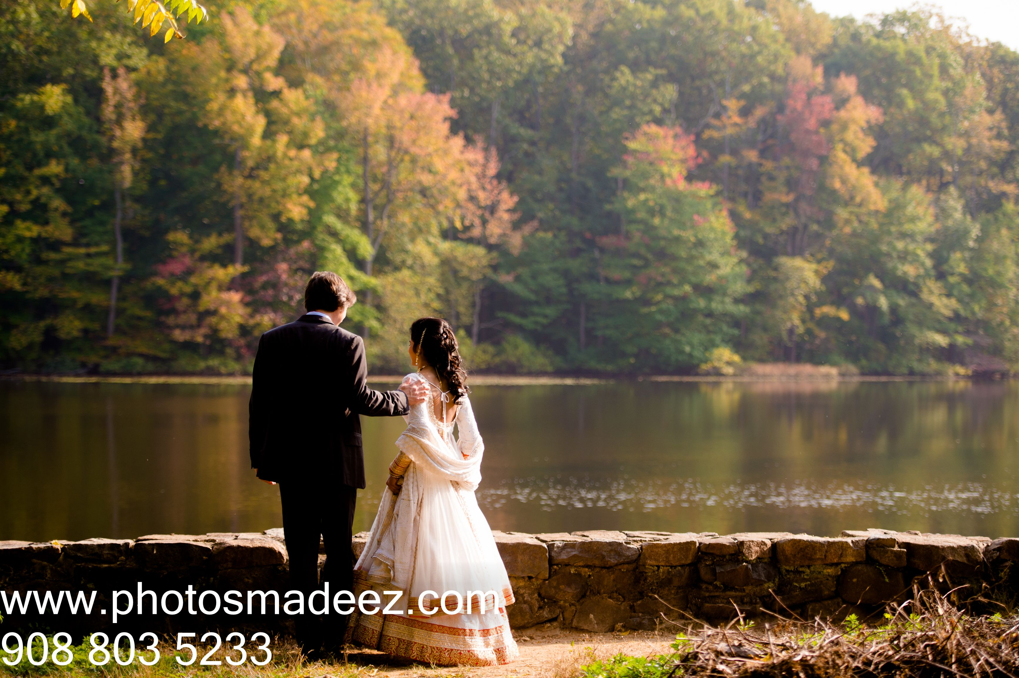 Indian Bride and American Groom Wedding in NJ, Indian