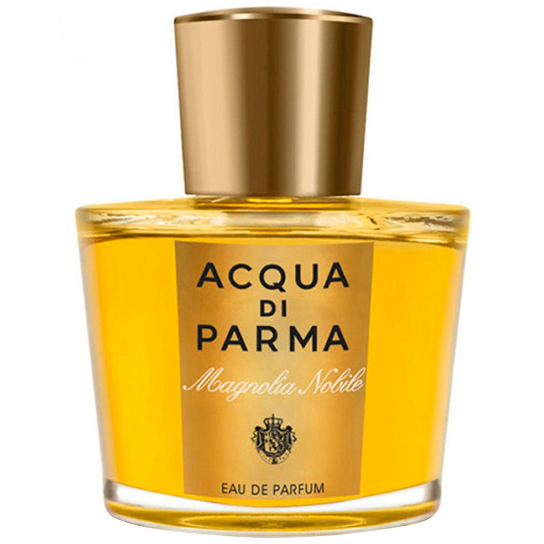 """Magnolia Acqua Di Parma Nobile; la esencia preciosa y delicada de la elegancia femenina italiana.  Un homenaje al """"rey"""" de las flores: calabresa Jasmine un ingrediente noble de la perfumería clásica."""
