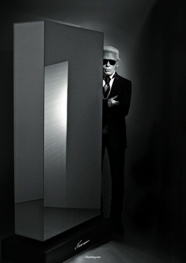 """""""NARCISSUS"""" LUXURY SAFE BY KARL LAGERFELD"""