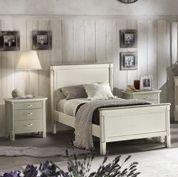 Camera da letto singola - Shabby Chic | Arredamento interni ...