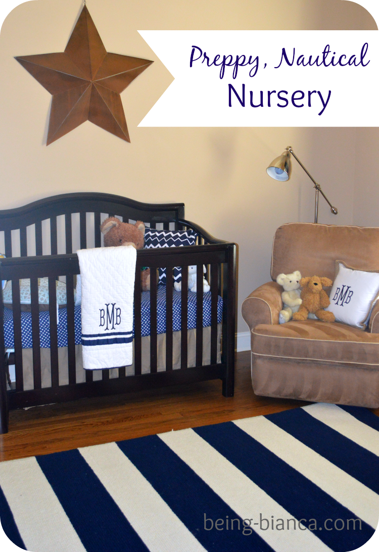 boy nursery ideas preppy and nautical accents easy to decorate