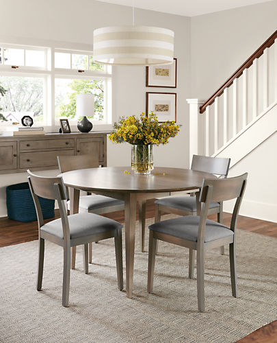 Adams Round Extension Dining Tables Modern Dining Tables