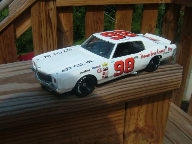 Lee Roy Yarbrough 1971 Monte Carlo Heavily Modified Model King