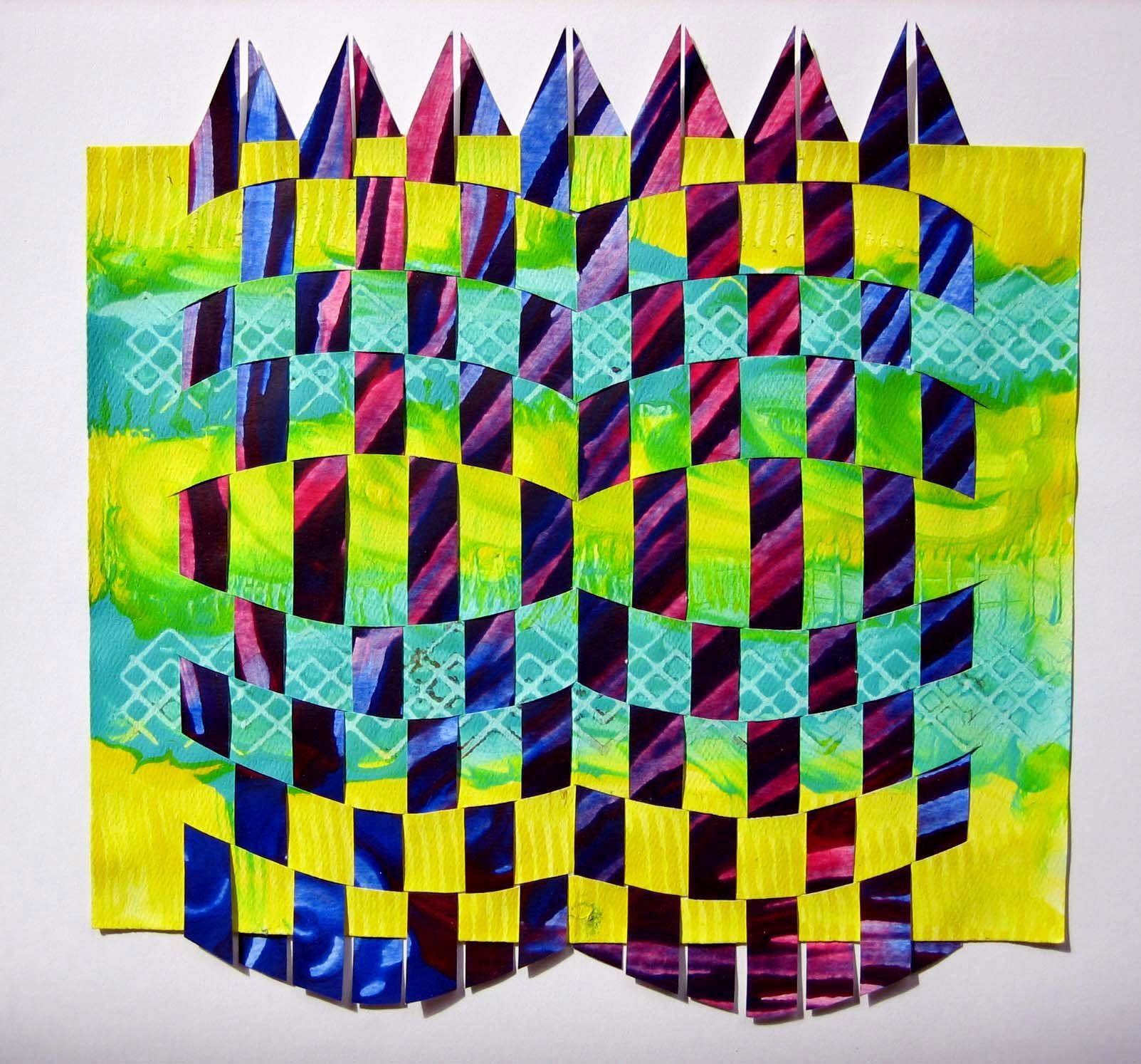 Paste Paper Masterpieces