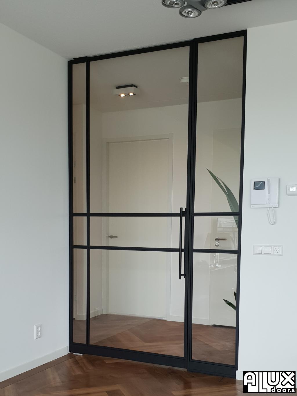 Metalen deuren en kantoorwanden fotoboek   Aluxdoors®