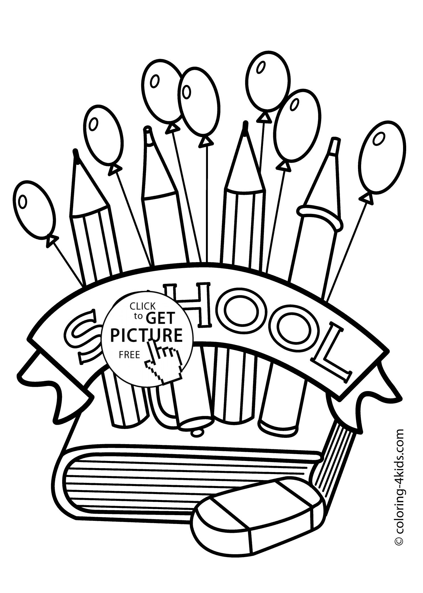 Printable 100 Days Of School Coloring Pages in 2020 (With images ... | 2079x1483