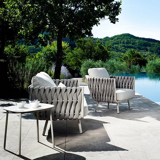 stylish outdoor furniture. Tosca Clubchair By Tribù - Outdoor Armchairs Design At STYLEPARK Stylish Furniture A