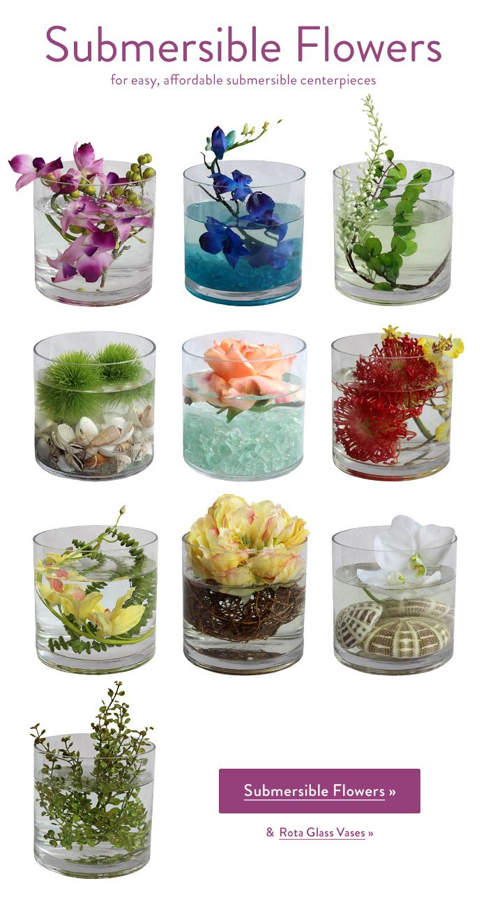 Simple Submersible Centerpieces + All New Flowers & Accessories ...