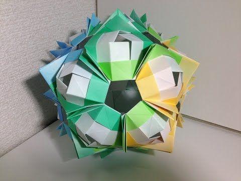 Modular Origami ぽよから式ユニットb30枚組 ユニット折り紙 1 Youtube ユニット折り紙 折り紙 多面体 折り紙