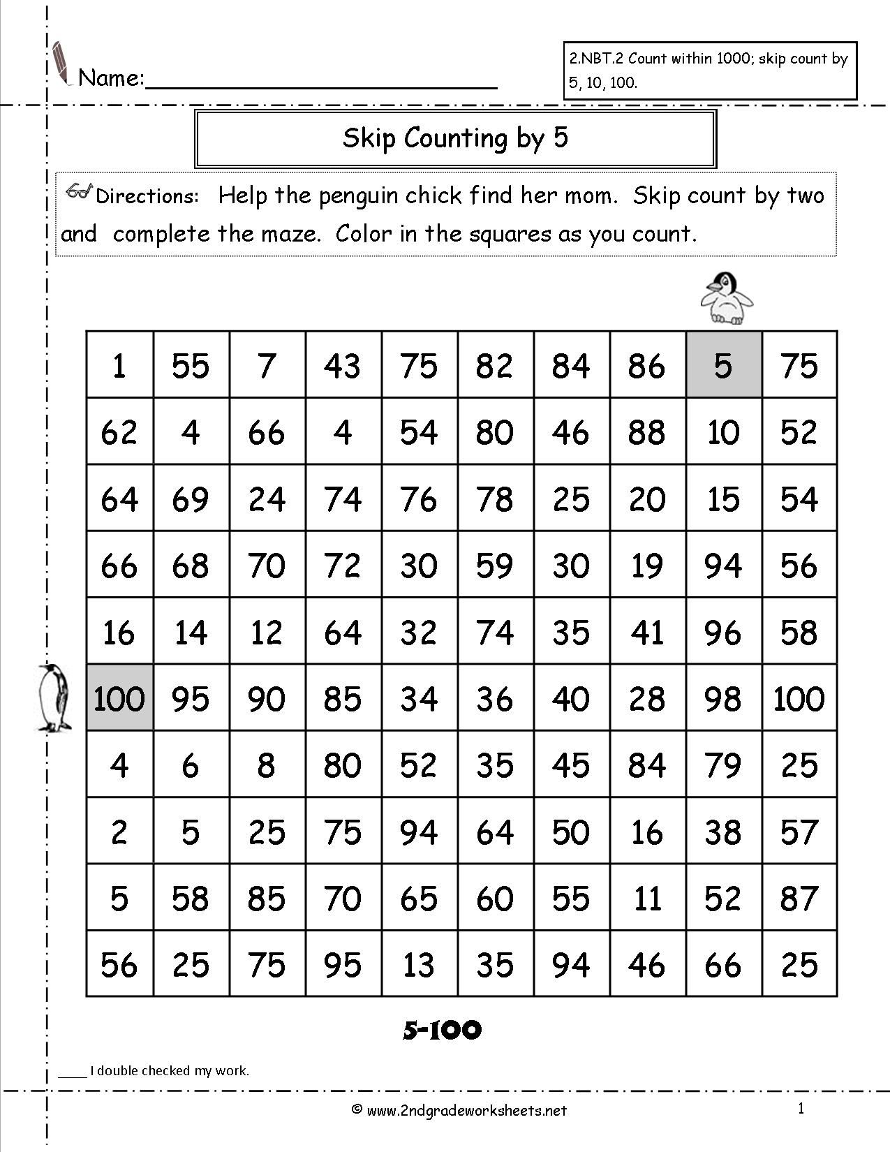 skip counting by 2 and 5 worksheets google search math pinterest skip counting. Black Bedroom Furniture Sets. Home Design Ideas