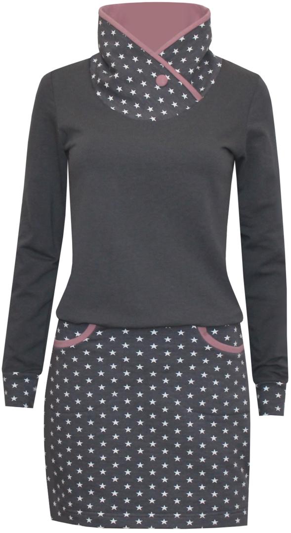 Photo of Stern Mädchen Sweatshirt Kleid