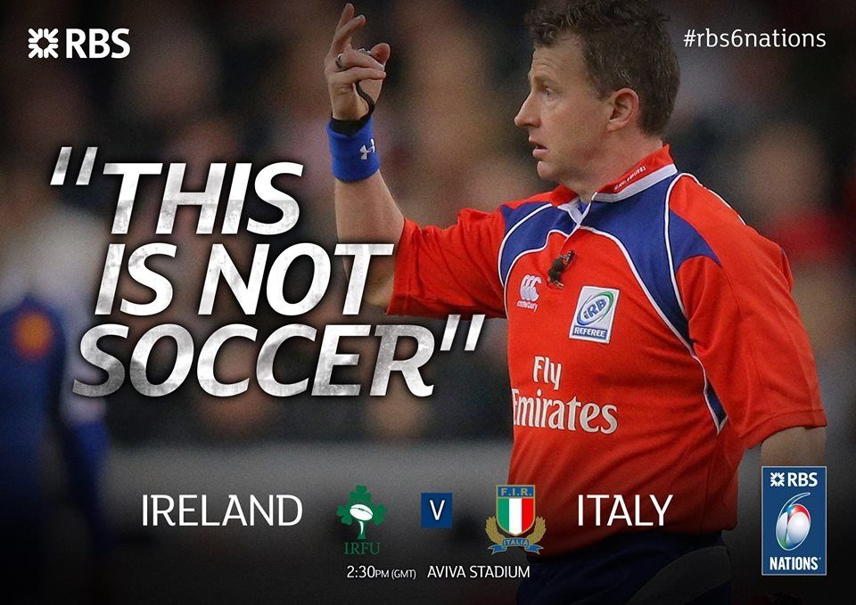 """Nigel OWENS - """"This is not soccer."""""""