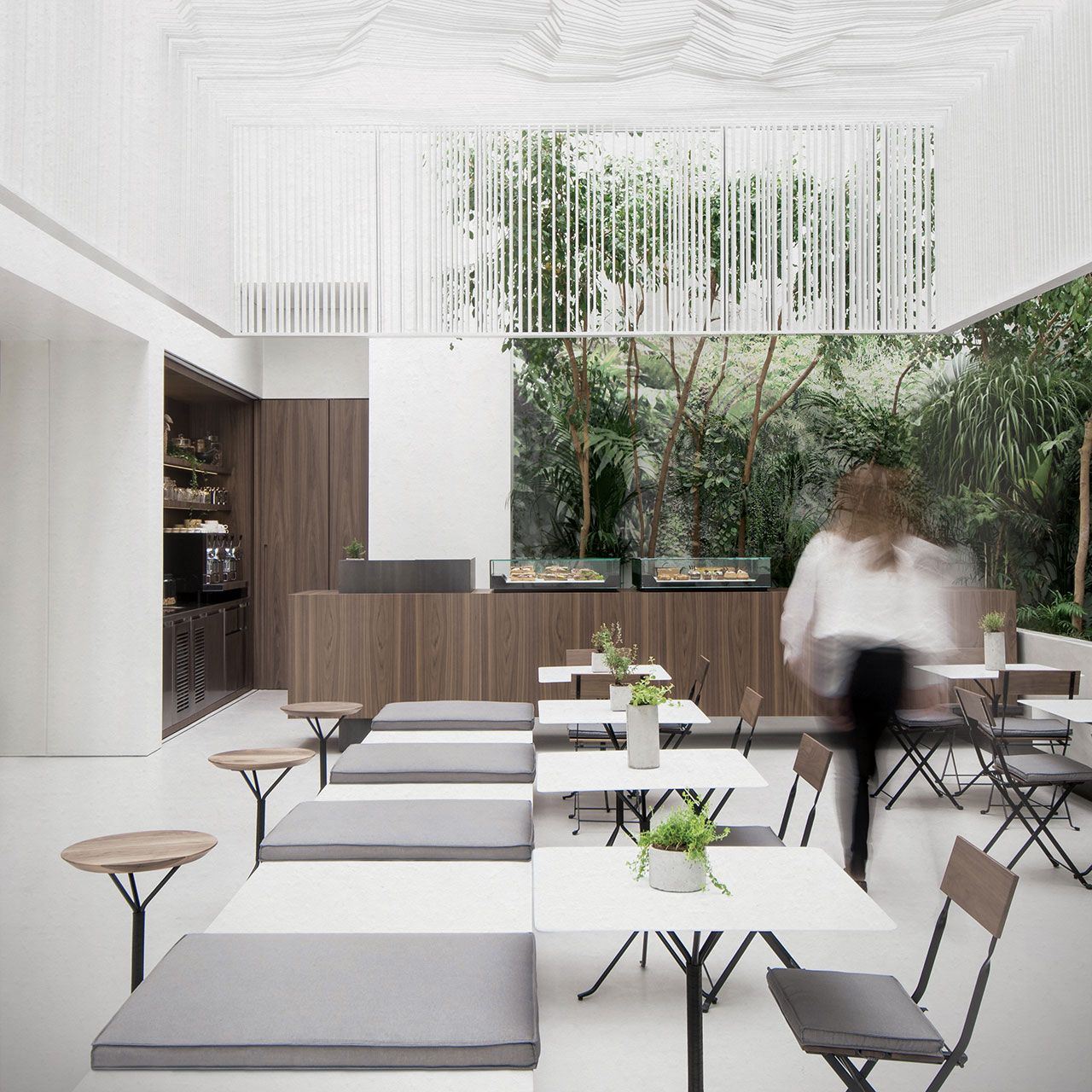 The new cycladic art museum shop u café in athens greece by kois