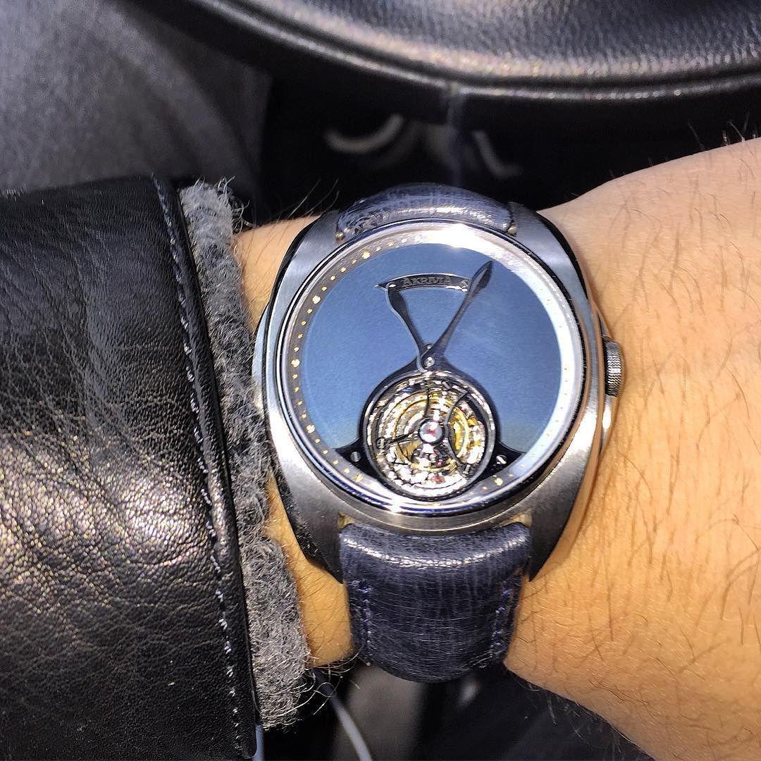 Akrivia heure minute tourbillon  by watchmakerxh