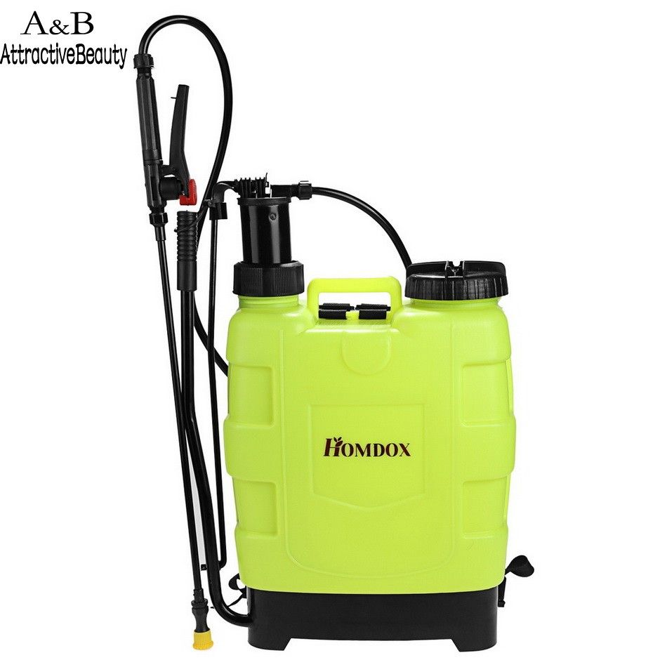 20l Manual Knapsack Sprayers Household Sterilizing Agricultural Pesticide Spraying Machine Spray Pressure Yard Weeds Indoor Grow Lights Grow Lights For Plants