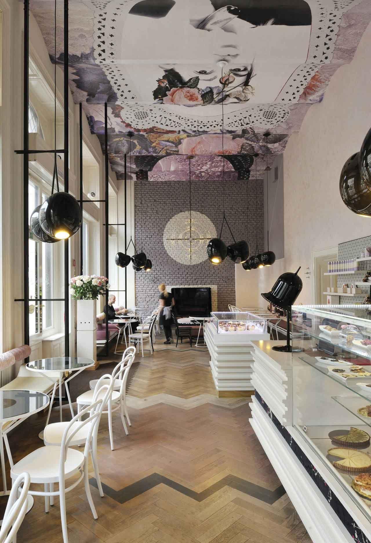 Lolita Cafe Ljubljana Slovenia by Trije Arhitekti #ohlalámagnoliá #Inspiration #restaurantes #bares #cafe #restaurants