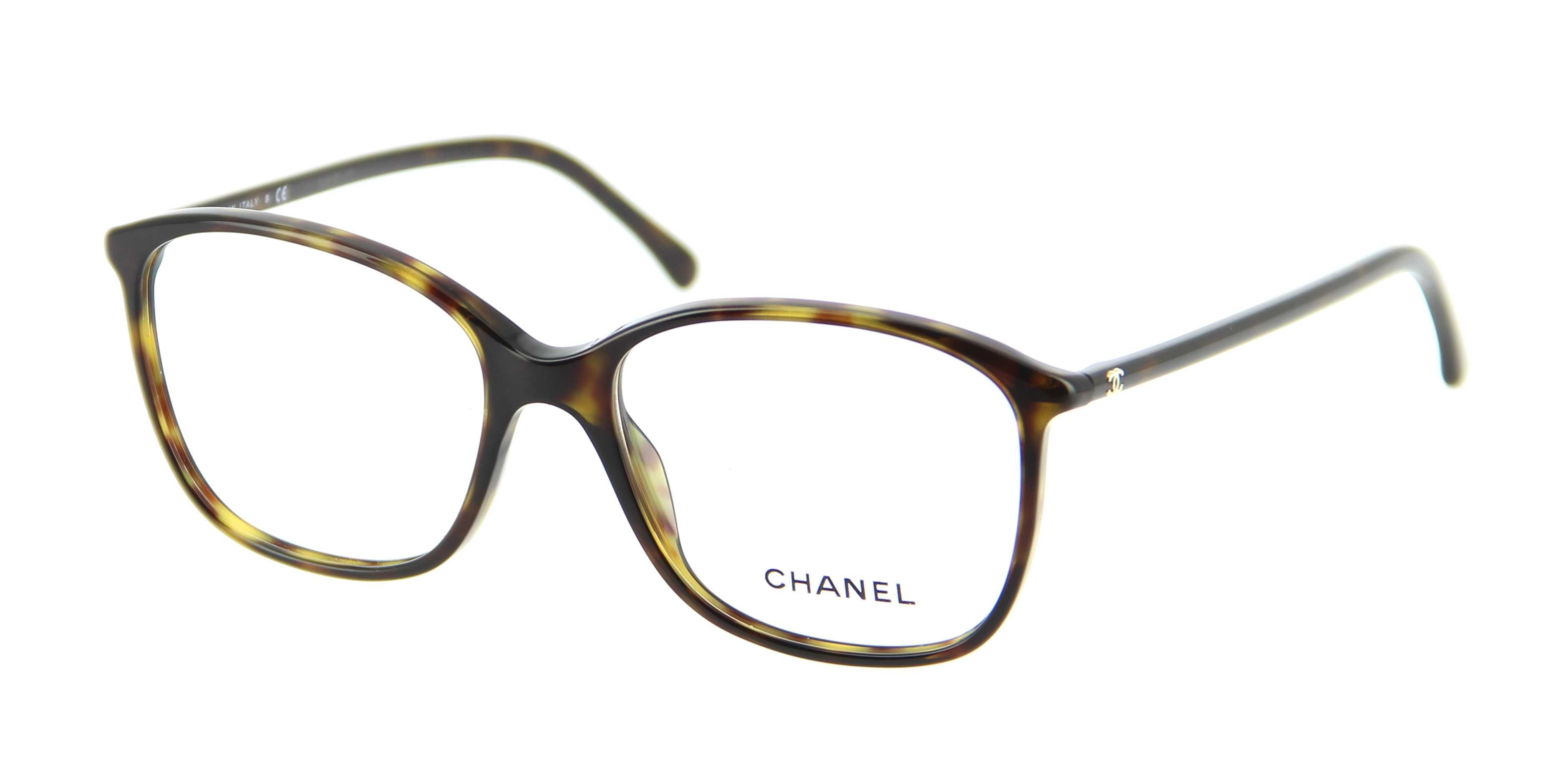 Brillen CHANEL CH 3219 C714 54/16 Damen Ecaille Quadratisch Vollrand ...
