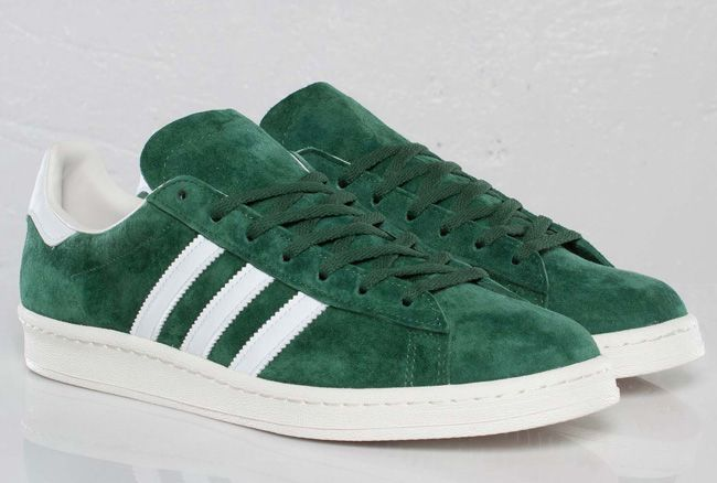 wholesale dealer c22b5 ea9ae adidas Originals Campus 80s  Dark Green - EU Kicks Sneaker Magazine