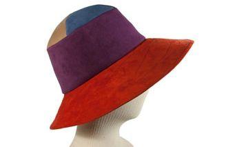 Patricia Underwood Colorblock Hat